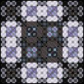 Abstrata sem costura, estilo de arabesco colorido padrão geométrico — Fotografia Stock