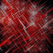 Abstract lines cool red — Stock Photo