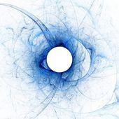 Tanrı - güneş tutulması mavi göz — Stok fotoğraf