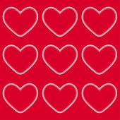 Den přání valentýnské — Stock vektor
