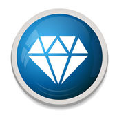 Ikony symbol diamentu — Wektor stockowy