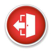 Door sign icon. — Stock Vector
