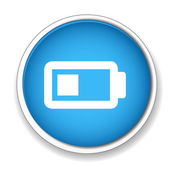 Charging battery icon — Stock Vector