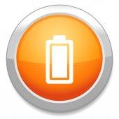 Aufladen batteriesymbol — Stockvektor