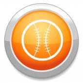 Baseball ball Icon — Stock Vector