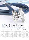 Stethoscope  close up — Stock Photo