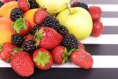 熟した果物やベリー — ストック写真