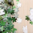 Puzzles with beautiful landscape — Stock Photo #52702133
