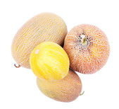 Melons isolated on white — Stock Photo