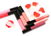 Beautiful lip glosses — Stock Photo