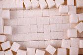 White refined sugar background — Stock Photo