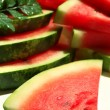 Fresh slices of watermelon — Stock Photo #53024555