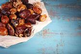 Tasty dates fruits — Stock Photo