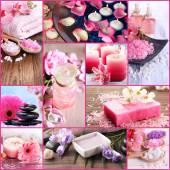 Spa collage — Stock Photo
