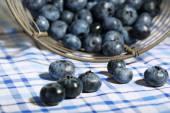 Tasty ripe blueberries — Stock Photo