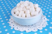 Raffinierter zucker — Stockfoto