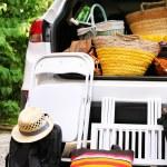 ������, ������: Bags in trunk