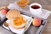軽めの朝食 — ストック写真