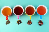 Assortment of tea — Stock Photo