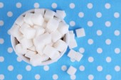 Refined sugar — Stock Photo