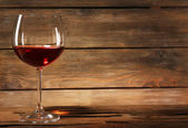 Goblet of wine — Stock Photo