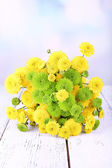 Bouquet of chrysanthemums flowers — Stock Photo