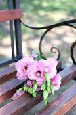 Eustoma flowers — Stock Photo