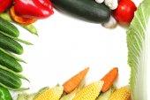 野菜のフレーム — ストック写真