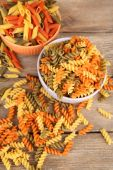Assortment of colorful pasta — Stock Photo