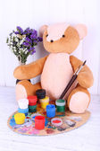 Toy bear — Stock Photo