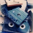 Retro audio tapes — Stockfoto #53431227