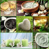 Collage de réglage spa — Photo