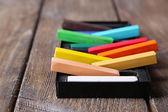 Colorful chalk pastels — Stock Photo