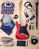Müzik ekipmanları — Stok fotoğraf