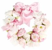 Wreath of flowers — Stock Photo