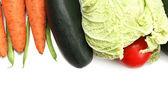 Frame of vegetables — Stock Photo