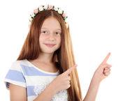Beautiful little girl — Stock Photo