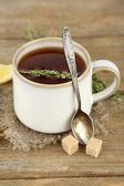 Tasty herbal tea — Stock Photo