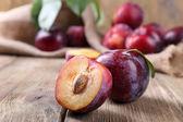 Sweet plums — Stock Photo