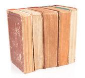 Old retro books — Stock Photo