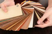 Palette for furniture — Stock Photo