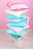 Bright pillows — Stock Photo