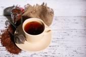 Xícara de chá de rooibos — Foto Stock