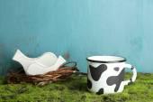 Mug of milk — Stock Photo