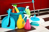 Different tools for cleaning — Stock Photo