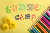 Summer Camp concept — Stock Photo
