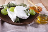 Brie and Camembert cheese — Stock Photo