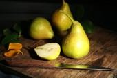 Olgun lezzetli armut — Stok fotoğraf