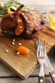 Grilled Lamb steak — Stock Photo