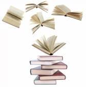 Livros voadores — Foto Stock